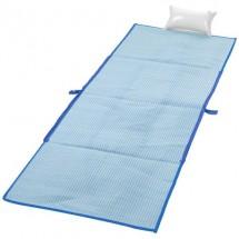 Bonbini opvouwbare strandtas met mat - koningsblauw