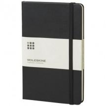 Classic L hard cover notitieboek - ruitjes - Zwart