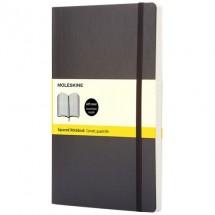 Classic PK soft cover notitieboek - ruitjes - Zwart