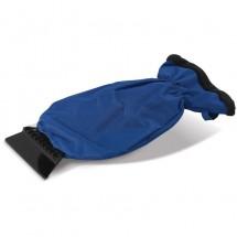Ijskrabber met handschoen - blauw