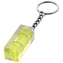 Sleutelhanger met waterpas - transparant