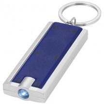 Zaklamp met sleutelhanger - blauw