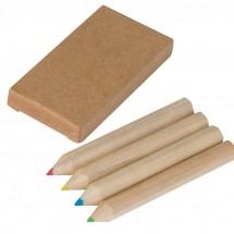 Set van 4 potloden - bruin