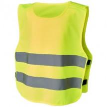 Odile veiligheidsvest met klittenband voor kinderen van 3-6 jaar oud - Neon Yellow