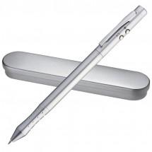 Laserpointer + LED met pen + touchscreenpen - grijs