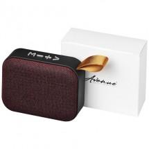 Fashion Bluetooth®-speaker van stof - Rood