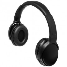 Blaze koptelefoon met oplichtend logo - Zwart