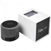 Fiber draadloze oplaadbare Bluetooth® speaker - Zwart