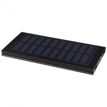 Stellar 8000 mAh powerbank op zonne-energie - Zwart
