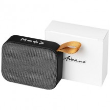 Fashion Bluetooth®-speaker van stof - Grijs