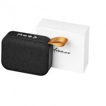 Fashion Bluetooth®-speaker van stof - Zwart
