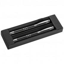 Metalen pennenset - zwart