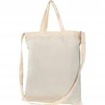 Katoenen tas met 3 hengsels Nordkoog - wit