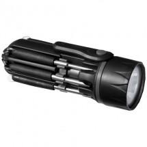 Spidey 8 in 1 schroevendraaier met lamp - zwart