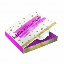 Book style tissue box - wit