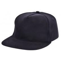 Brushed Honkbal Cap Zwart acc. Zwart