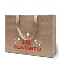 Papier / Non-Woven tas Madrid - zand