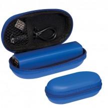 Kunststof Powerbank - blauw