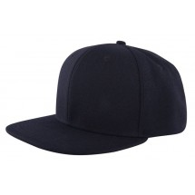 High Profile Cap Zwart
