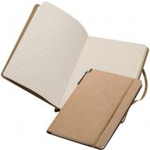 Notitieboekje - bruin