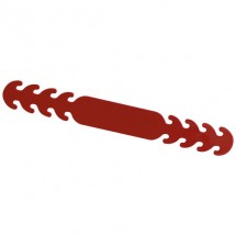 Band voor mondkapjes - Rood