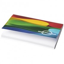 Sticky-Mate® A7 soft cover sticky notes 100x75 - Wit