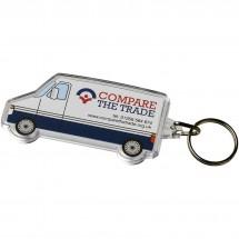 Combo busvormige sleutelhanger - Transparant