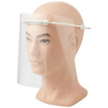 Beschermend gezichtsvizier - Medium - Wit