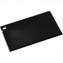 Coro ijskrabber in creditcardformaat - Zwart