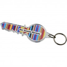 Combo sleutelvormige sleutelhanger - Transparant