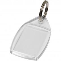 Access kunststof sleutelhanger - Transparant
