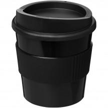 Americano® primo 250 ml beker met grip - Zwart