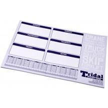 Desk-Mate® A2 bureauonderlegger - Wit