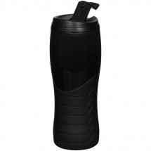 Tracker 400 ml drinkbeker - Zwart