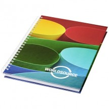 Wire-o A6 notitieboek hard cover - Wit