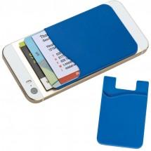 Kaarthouder voor GSM - blauw