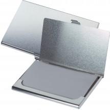 Metalen visitekaarten-etui Wales - grijs