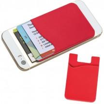 Kaarthouder voor GSM - rood