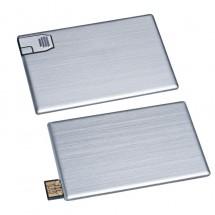 USB-kaart metaal 4 GB - grijs