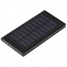 Solar powerbank - zwart