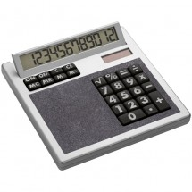Calculator Own Design met inlegplaatje - antraciet