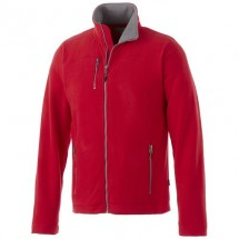 Pitch heren Microfleece jack - Rood