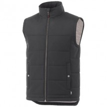 Swing heren  geïsoleerde bodywarmer - Grey smoke