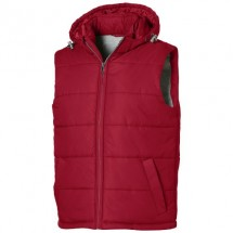 Mixed doubles heren bodywarmer - Rood