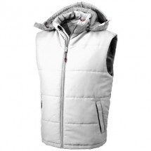 Gravel heren bodywarmer - Wit