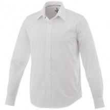 Hamell heren overhemd met lange mouwen - Wit