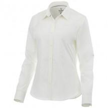 Hamell dames blouse met lange mouwen - Wit