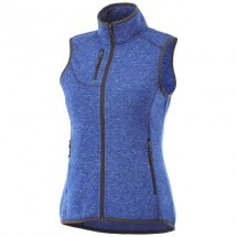 Fontaine dames gebreide bodywarmer - HEATHER BLUE