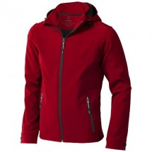 Langley heren softshell jack - Rood