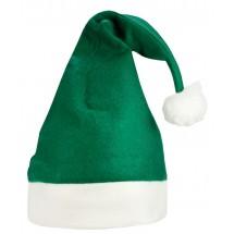 Kerstmuts Groen acc. Wit